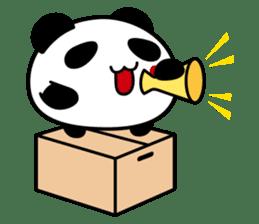 Panda maru - GOOD LUCK sticker #12080567