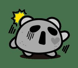 Panda maru - GOOD LUCK sticker #12080568