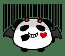 Panda maru - GOOD LUCK sticker #12080569