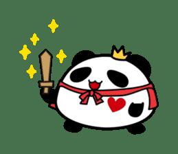 Panda maru - GOOD LUCK sticker #12080570