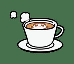Panda maru - GOOD LUCK sticker #12080573