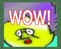 (ENGLISH VERSION) DYNAMIC ADDICTIVE FACE sticker #12085003