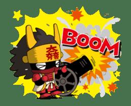 Movin Ishida Mitsunari sticker #12085853