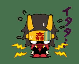 Movin Ishida Mitsunari sticker #12085858