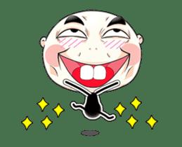 funny men sticker #12086393
