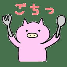 30ish piggy,Piggy-San sticker #12094041