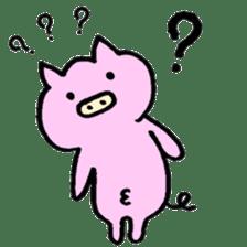 30ish piggy,Piggy-San sticker #12094065