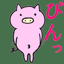 30ish piggy,Piggy-San sticker #12094067