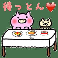 30ish piggy,Piggy-San sticker #12094068