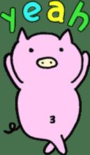 30ish piggy,Piggy-San sticker #12094069