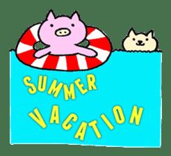 30ish piggy,Piggy-San sticker #12094076