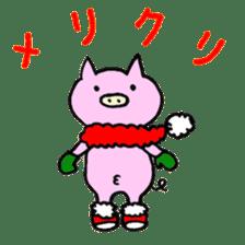 30ish piggy,Piggy-San sticker #12094077