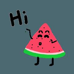 Take it easy Mr. Watermelon!