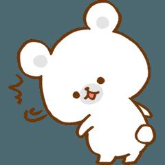 Lazy polar bear2.