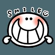 สติ๊กเกอร์ไลน์ Moving Smiley