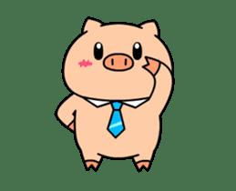 OFFICE PIG : DUKDIK sticker #12101319