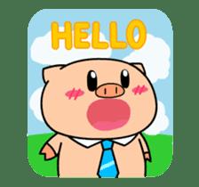 OFFICE PIG : DUKDIK sticker #12101320