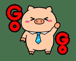 OFFICE PIG : DUKDIK sticker #12101322