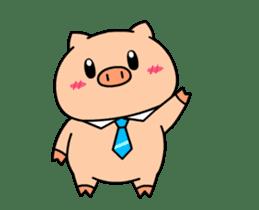 OFFICE PIG : DUKDIK sticker #12101324