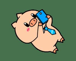 OFFICE PIG : DUKDIK sticker #12101326