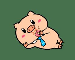 OFFICE PIG : DUKDIK sticker #12101327