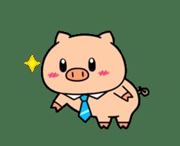 OFFICE PIG : DUKDIK sticker #12101329