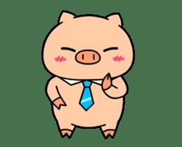 OFFICE PIG : DUKDIK sticker #12101331