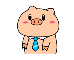 OFFICE PIG : DUKDIK sticker #12101335