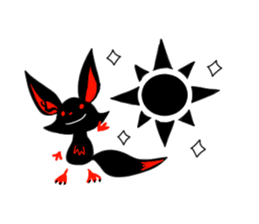 Shadow fox light up! sticker #12103305