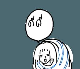 Cocoon girl (Thai version) sticker #12103426
