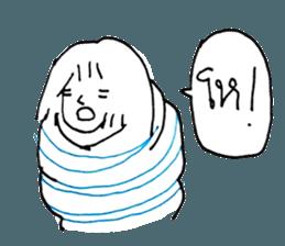 Cocoon girl (Thai version) sticker #12103427