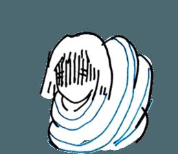 Cocoon girl (Thai version) sticker #12103431