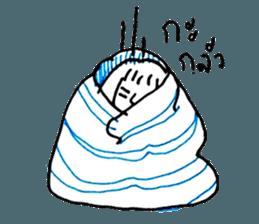 Cocoon girl (Thai version) sticker #12103443