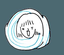 Cocoon girl (Thai version) sticker #12103444