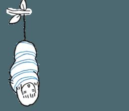Cocoon girl (Thai version) sticker #12103446