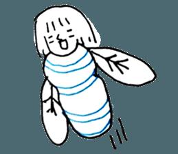 Cocoon girl (Thai version) sticker #12103450