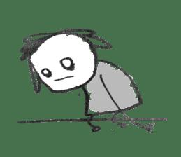 Ugly doodles sticker #12121913