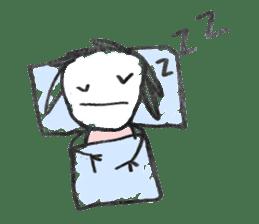 Ugly doodles sticker #12121914