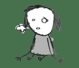 Ugly doodles sticker #12121916