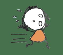 Ugly doodles sticker #12121922