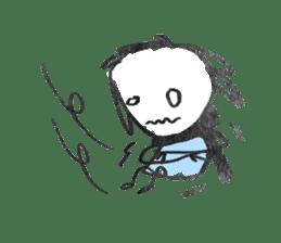 Ugly doodles sticker #12121927