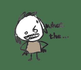 Ugly doodles sticker #12121941