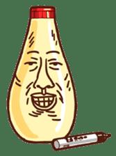 Mayonnaise Man 12 sticker #12130251