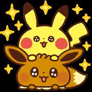 สติ๊กเกอร์ไลน์ Kanahei × Pokémon วันสบายๆ