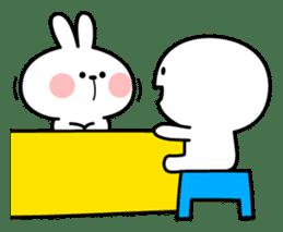 Spoiled Rabbit 6 sticker #12131015