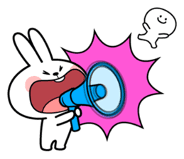 Spoiled Rabbit 6 sticker #12131027