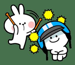 Spoiled Rabbit 6 sticker #12131041