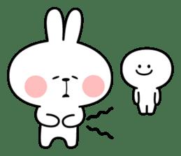 Spoiled Rabbit 6 sticker #12131046