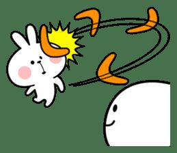 Spoiled Rabbit 6 sticker #12131049