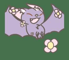Hello!I'm bat! sticker #12131930